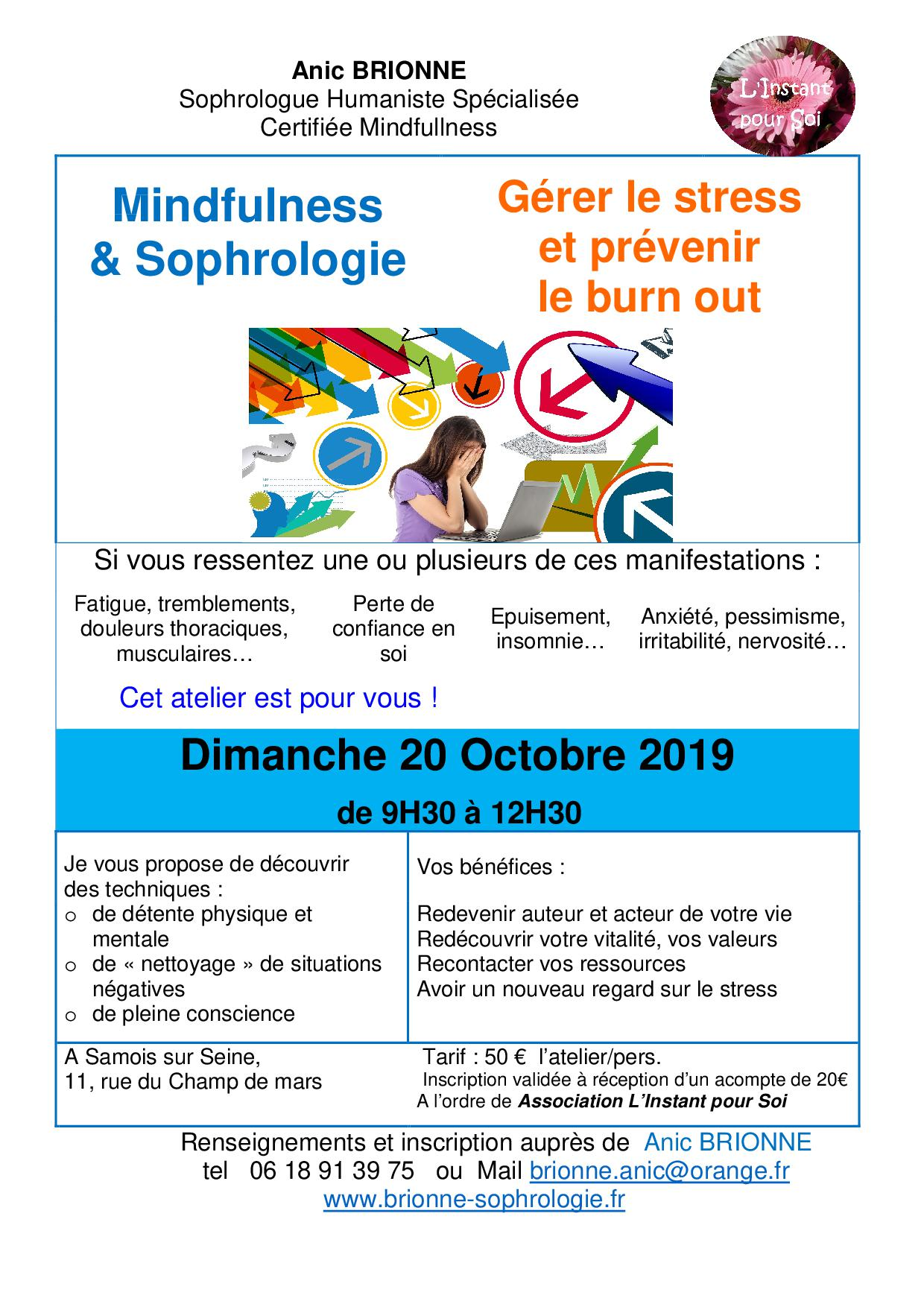 Stage GEstion du stress 2019-10-20
